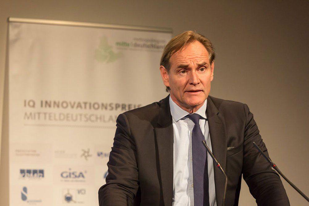 Burkhard Jung, 1. Vorsitzender, Europäische Metropolregion Mitteldeutschland e.V. und Oberbürgermeister der Stadt Leipzig. Foto: Steffen Runke