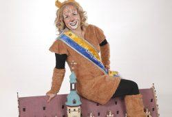 Das neue Karnevalsoberhaupt, die Löwin Leila. Foto: FKLK e.V./Silke Wild