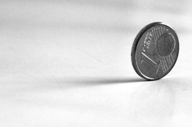 """Kohle-Cent statt """"Kohle-Pfennig"""". Foto: Ralf Julke"""