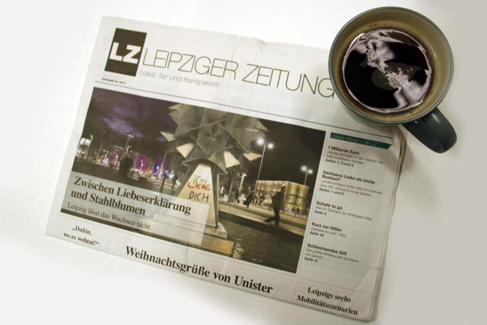 Leipziger Zeitung Nr. 49. Foto: Ralf Julke