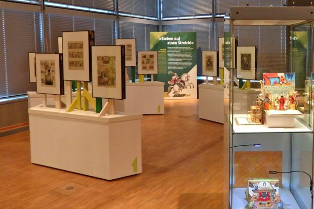 Ausstellung MärchenSpiele. Foto: SGM