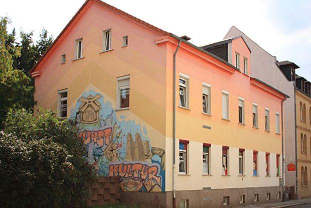 Soziokulturelles Stadtteilzentrum Reudnitz. Foto: Mühlstraße 14 e. V.