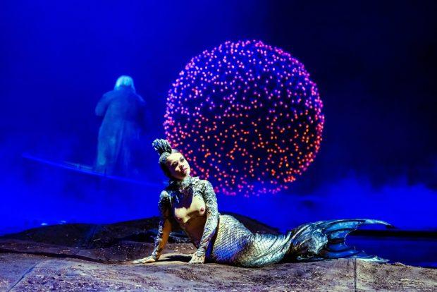 """""""Rusalka"""" gespielt von OlenaTokar avanciert an der Oper Leipzig zum Kassenschlager. Foto: Kirsten Nijhof"""