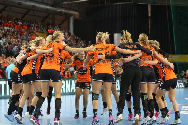 Die Niederlande schob sich durch den Sieg auf Gruppenplatz zwei vor. Foto: Jan Kaefer