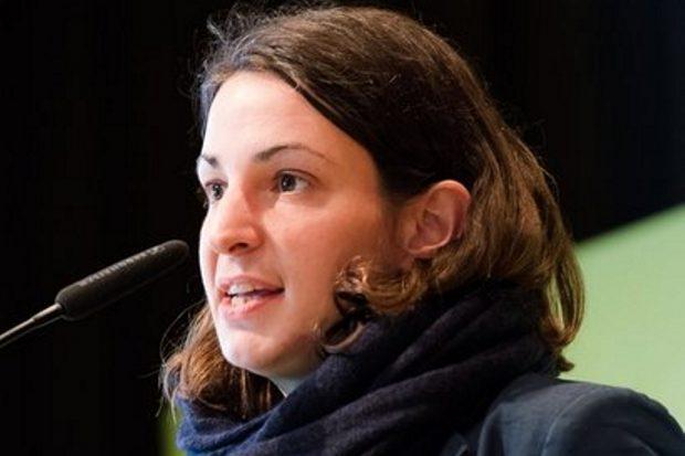 Christin Melcher, Landesvorstandssprecherin Bündnis 90/Die Grünen Sachsen. Foto: Bündnis 90/Die Grünen