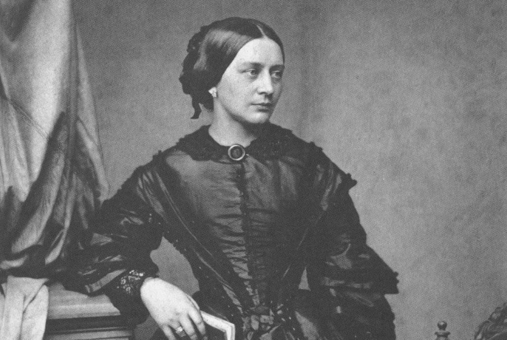 Clara Schumann, circa 1850. Foto: Franz Hanfstaengl