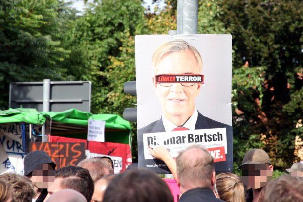 Terror in Wurzen. Eine Frage der Perspektive. Foto: L-IZ.de