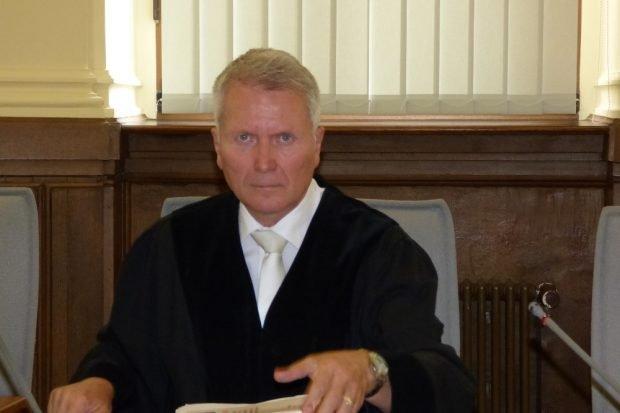 Rüdiger Harr, Vorsitzender Richter der 8. Strafkammer am Landgericht Leipzig. Foto: Lucas Böhme