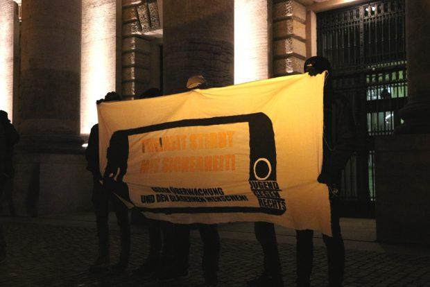 Sicherheit contra Freiheit vor den Bundesverwaltungsgericht. Foto: L-IZ.de