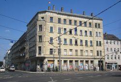 Kreuzung Wurzner-/Dresdner Straße. Foto: Don-kun