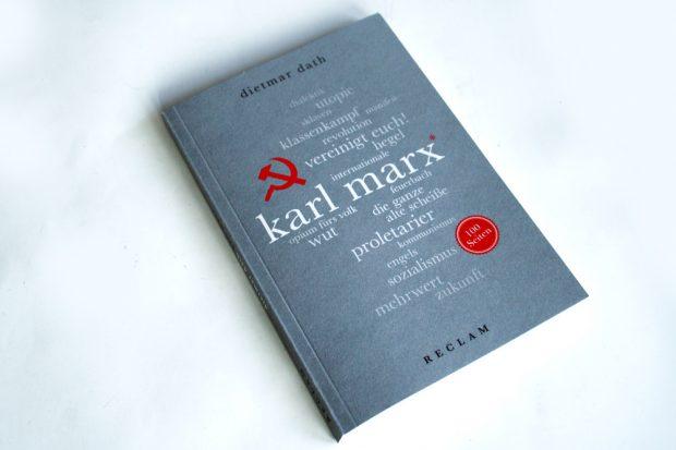 Dietmar Dath: Karl Marx. Foto: Ralf Julke