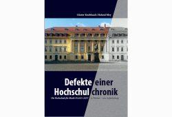 Günter Knoblauch, Roland Mey: Defekte einer Hochschulchronik. Cover: Mitteldeutscher Verlag