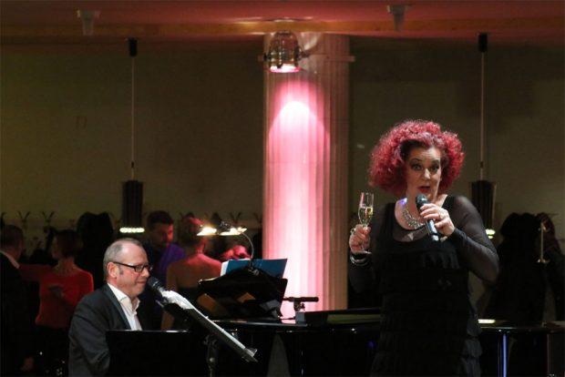 """""""Let's Duett"""" mit Ines Agnes Krautwurst und Jens Pflug."""