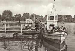 Elsterstausee um 1960. Foto Kühn, Quelle: Pro Leipzig