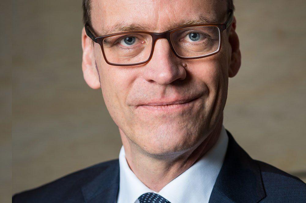 Dr. Matthias Haß, Staatsminister der Finanzen. Foto: Pawel Sosnowski