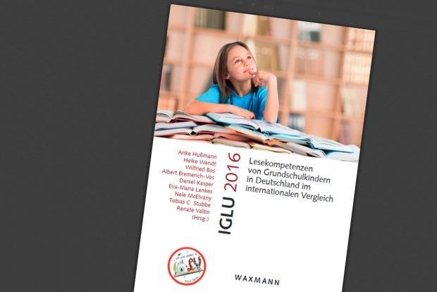 Die Dokumentation zur IGLU-Studie aus dem Waxmann Verlag. Cover: Waxmann Verlag