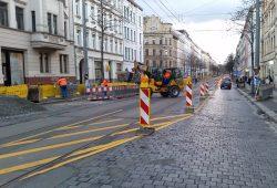 War auch so ein Dauer-verschiebe-Projekt: die Könneritzstraße. Foto: Marko Hofmann