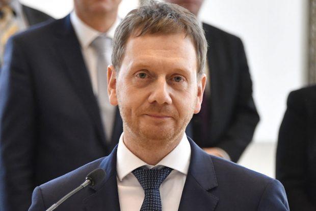 Ministerpräsident Michael Kretschmer. Foto: Matthias Rietschel