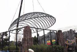 Kuppel im Anflug. Foto: Zoo Leipzig