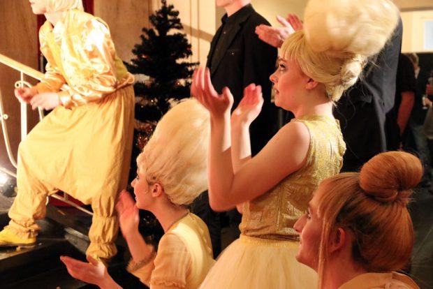 Märchenhafter Empfang im Leipziger Schauspiel für die Besucher.