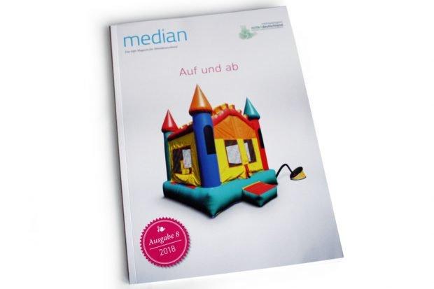 """""""Median""""-Ausgabe 8: Auf und ab. Foto: Ralf Julke"""