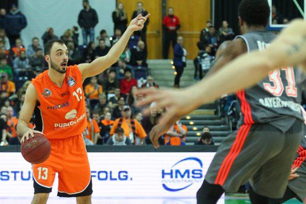 Bester MBC-Scorer war Djordje Drenovac mit 21 Punkten. Foto: Jan Kaefer