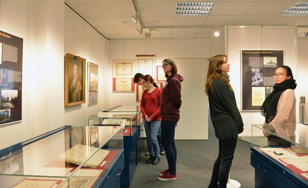 Ausstellung Sternburg, Foto- Sächsisches Staatsarchiv