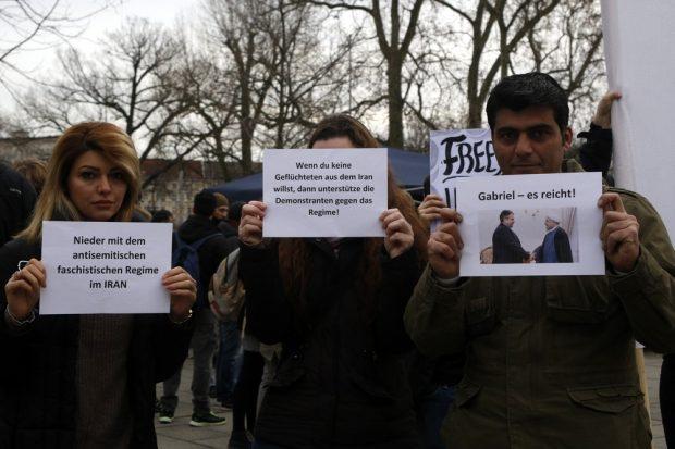 Die deutsche Außenpolitik unterstützt das Regime. Foto: Alexander Böhm