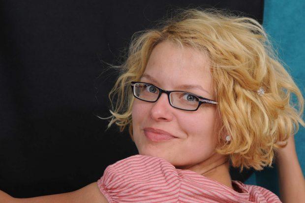 Jana Steinhaus, Sprecherin gbs Leipzig – Regionalgruppe der Giordano-Bruno-Stiftung. Foto: Evelin_Frerk