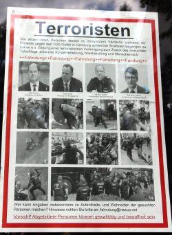 Das Plakat aus dem August 2017. Foto: L-IZ.de