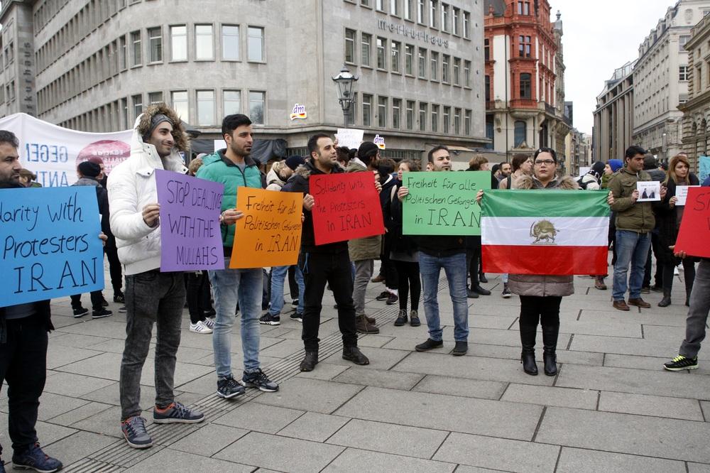 Freiheit für den Iran. Foto: Alexander Böhm