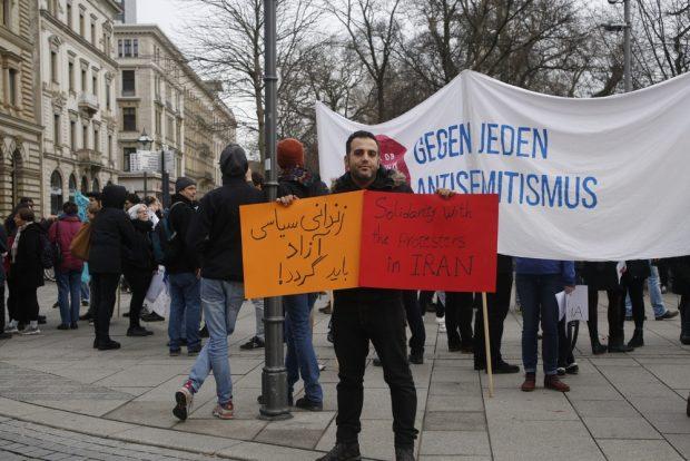 Freiheit für die politischen Gefangenen. Foto: Alexander Böhm
