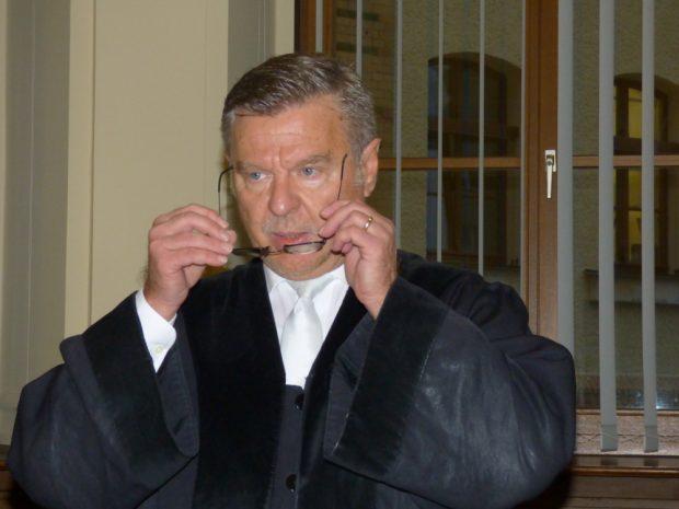 Richter Norbert Göbel. Foto: Lucas Böhme