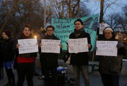 Kundgebung gegen das iranische Regime. Foto: Alexander Böhm