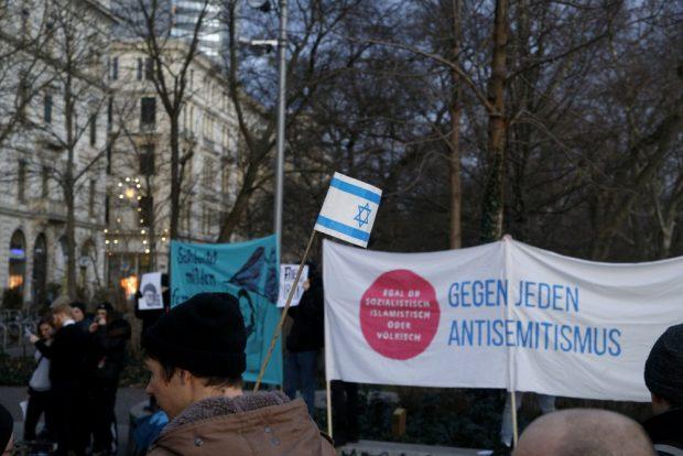 Gegen jeden Antisemitismus. Foto: Alexander Böhm