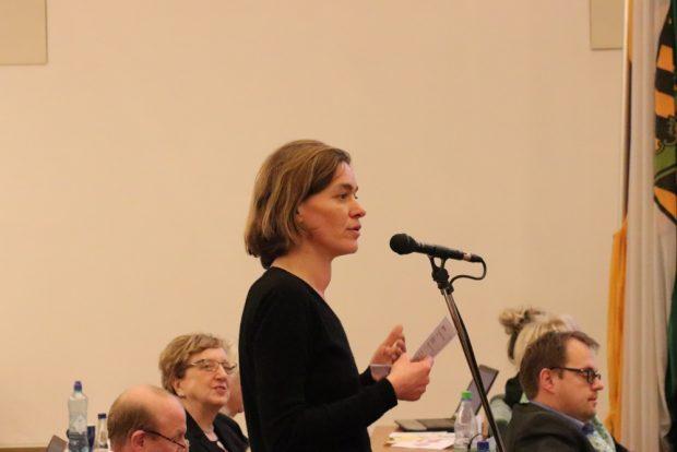 Juliane Nagel, Stadträtin und Landtagsabgeordnete (Linke). Foto: L-IZ.de