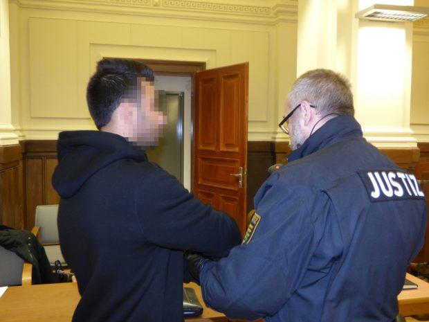 Mohammad A. (23) musss lebenslang in Haft. Foto: Lucas Böhme