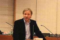 Mathias Weber (Linke) im Stadtrat Leipzig. Foto: L-IZ.de
