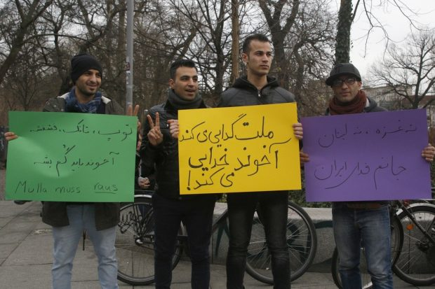 Mullahs raus. Foto: Alexander Böhm