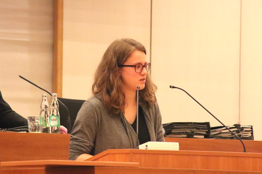 Myriel Marthez, Sprecherin des Jugendparlaments Leipzig im Stadtrat. Foto: L-IZ.de
