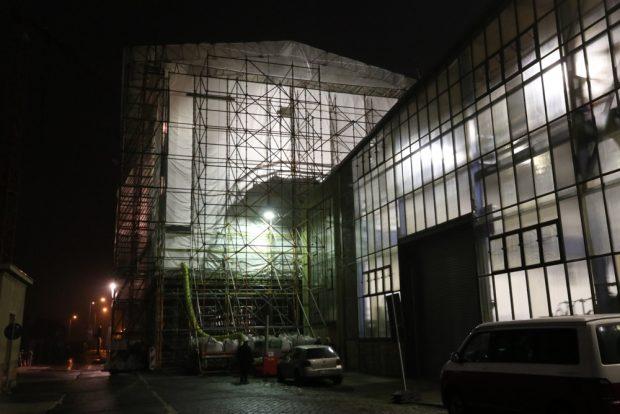 Wie es derzeit aussieht: die Baustelle auf dem Kirow-Gelände. Foto: Michael Freitag