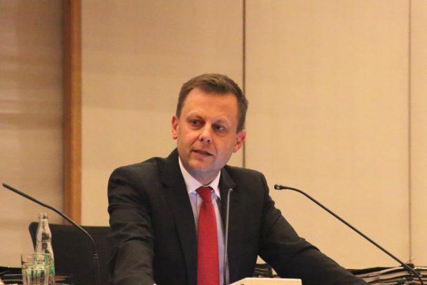 Torsten Bonew, Finanzbürgermeister Leipzigs. Foto: L-IZ.de