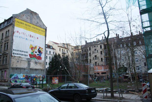 Der wilde Abenteuerspielplatz in der Ludwigstraße Nr. 42. Foto: Ralf Julke
