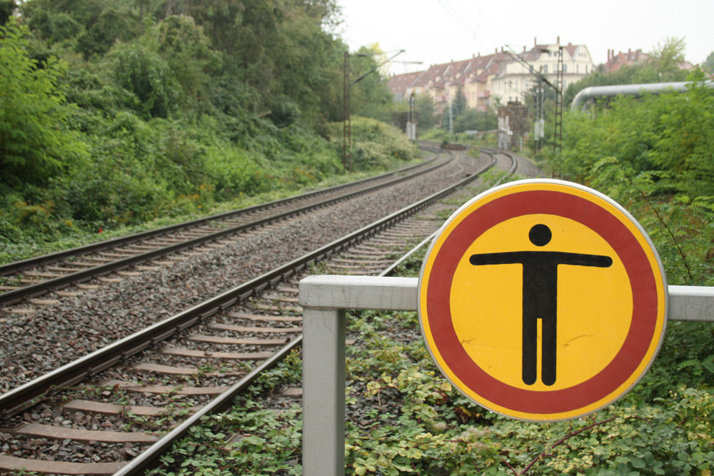 Stille im Osten: S-Bahn-Haltepunkt Anger-Crottendorf. Foto: Ralf Julke