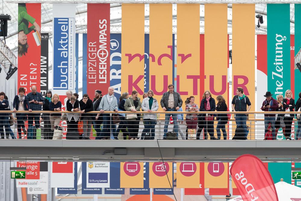 Leipziger Buchmesse 2017. Foto: Leipziger Messe