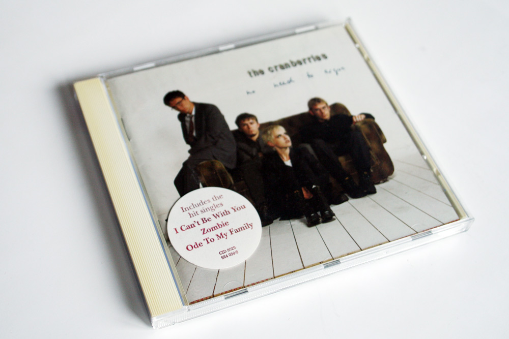 The Cranberries: No Need to Argue, die CD mit dem Song