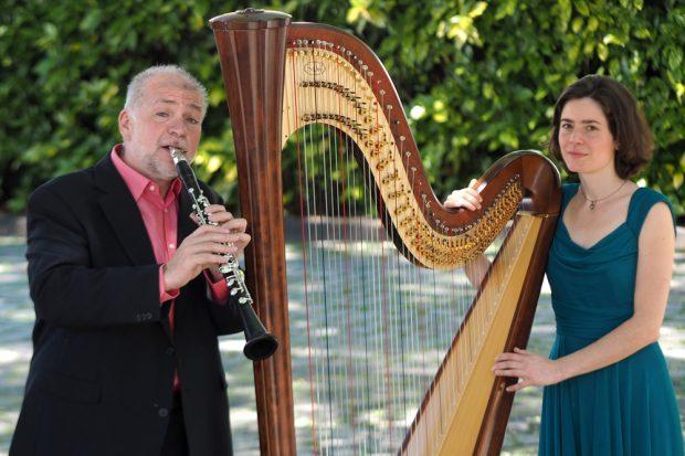 Helmut Eisel und Verena Jochum. Foto: Thomas Reinhardt