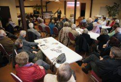 "Veranstaltung am 13. Januar im ""Fuchsbau"" in Rückmarsdorf. Foto: BI Rückmarsdorf"