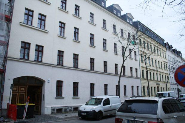 Ludwigstraße 36 / 38, das Haus der Witwe Henze. Foto: Ralf Julke