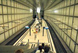 Leipzigs teuerste Tunnel-Station: Wilhelm-Leuschner-Platz. Foto: Ralf Julke